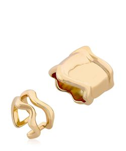 Eshvi | Lava Ring Set