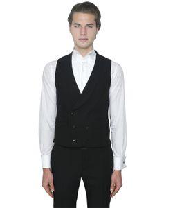 Gabriele Pasini | Double Breasted Wool Vest