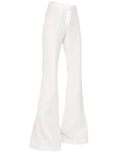 Gareth Pugh   Cady Silk High Waisted Palazzo Trousers