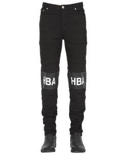 Hood By Air | 16.5cm Hockey Stripe Cotton Denim Jeans