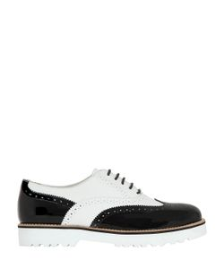 Hogan | Two Tone Leather Oxford Shoes