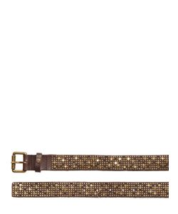 Htc Hollywood Trading Company | Barack Star Studs Leather Belt