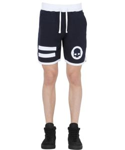 Hydrogen | Hockey Cotton Jogging Shorts W/ Patches