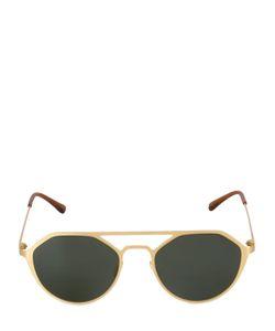 Italia Independent   Geometric I-Metal Sunglasses