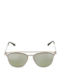 Italia Independent   I-Thin Lightweight Metal Sunglasses