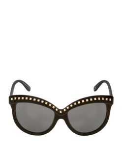 Italia Independent | I-Top Velvet Sunglasses With Studs