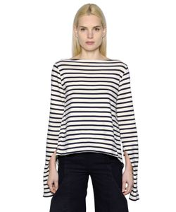 Jacquemus | Open Back Striped Cotton Jersey