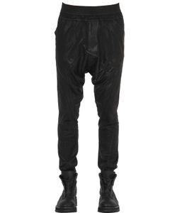 Julius | Coated Cotton Blend Pants