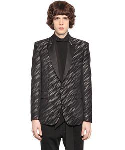 Just Cavalli | Wool Viscose Jacquard Jacket