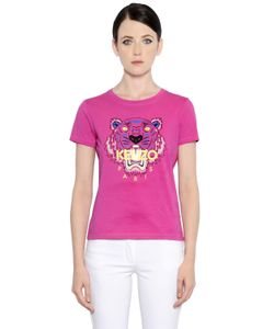 Kenzo | Tiger Printed Cotton Jersey T-Shirt