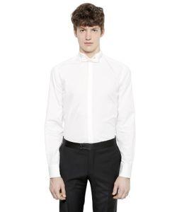 Lanvin   Cotton Poplin Tuxedo Shirt
