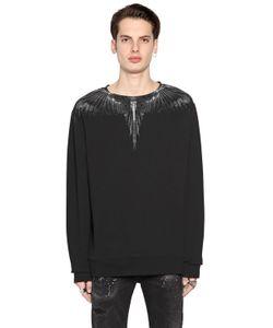Marcelo Burlon County Of Milan   Antofalla Printed Cotton Sweatshirt
