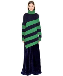 Marco de Vincenzo | Ribbed Striped Wool Sweater