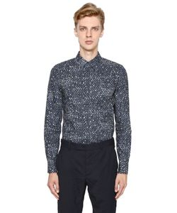 Marni | Dot Printed Cotton Poplin Shirt