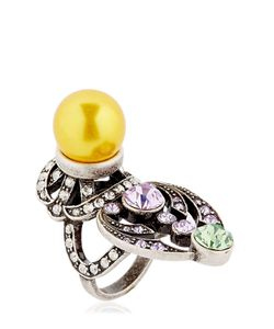 Mawi | Crystal Imitation Pearl Ring