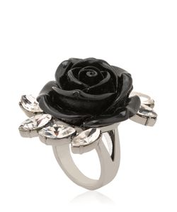 Mawi | Rose Crystal Spring Ring