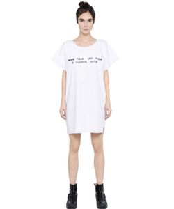 Mm6 Maison Margiela | Printed Cotton Poplin Dress