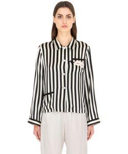 MORGAN LANE | Mini Mask Ruthie Silk Pajama Top