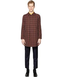 Mp Massimo Piombo | Waterproof Checked Cotton Car Coat