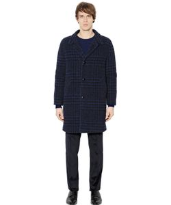 Mp Massimo Piombo | Faded Houndstooth Alpaca Blend Coat