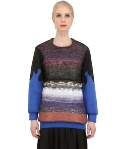 Natargeorgiou | Neoprene And Lurex Sweater