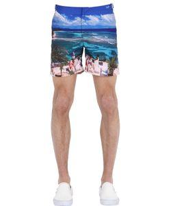Orlebar Brown | Bulldog Printed Swimming Shorts