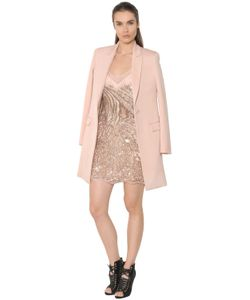 Roberto Cavalli   Wool Twill Coat