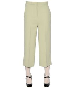 Rochas | Stretch Cady Cropped Pants