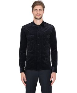 Salvatore Piccolo | Stretch Corduroy Cotton Modal Shirt