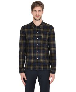 Salvatore Piccolo | Plaid Cotton Flannel Shirt