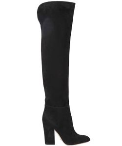 Sergio Rossi | 105mm Suede Over The Knee Boots
