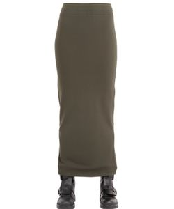 Silent Damir Doma | Cotton Viscose Jersey Skirt