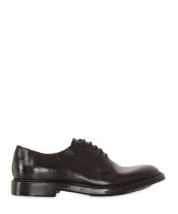 Silvano Sassetti | Washed Horse Leather Derby Shoes