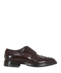 Silvano Sassetti | Brushed Horse Leather Brogue Derby Shoes