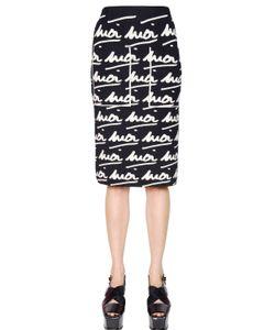 Sonia Rykiel | Moi Moi Wool Jacquard Skirt