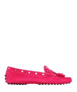 Tod's | Gommino Studded Suede Driving Shoes