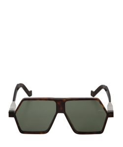 Vava | Tortoiseshell Effect Mask Sunglasses