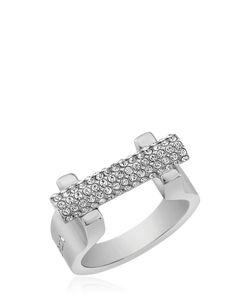 Vita Fede | Sphere Bar Swarovski Crystal Ring