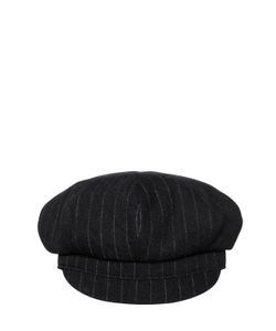 Y's | Striped Boiled Wool Hat