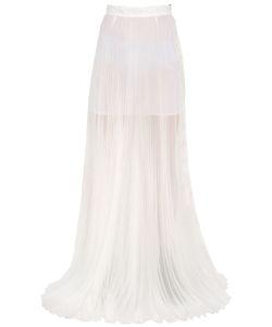 Yang Li   Plisse Silk Organza Skirt