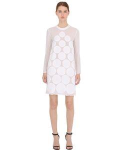 La Perla | Sequined Dots Silk Crepe Dress