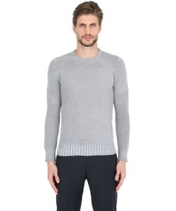 Drumohr | Faded Lambswool Crew Neck Sweater