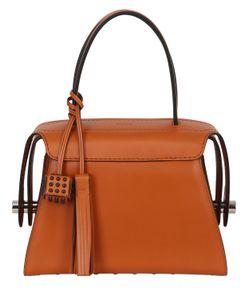 Tod's   Medium Leather Top Handle Bag