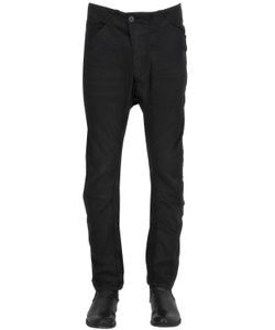 11 By Boris Bidjan Saberi | Light Stretch Cotton Canvas Biker Pants