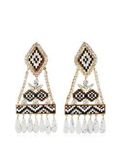 Shourouk | Ramses Black Earrings