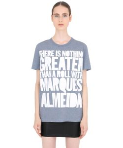 House Of Holland | Marques Almeida Cotton Jersey T-Shirt