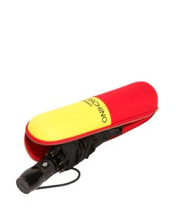 Moschino | Pill Printed Automatic Mini Umbrella