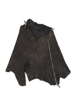 Cutuli Cult   Zippered Leather Scarf