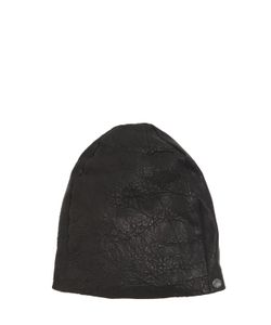 Cutuli Cult | Textured Leather Beanie Hat