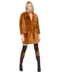 Burberry Prorsum | Shaved Shearling Coat